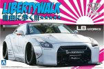 Aoshima 05403 - 1/24 LB Works R35 GT-R Ver.2 Liberty Walk No.10