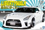 Aoshima 05590 - 1/24 Liberty Walk No.11 LB Works R35 GT-R Type 1.5