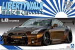 Aoshima 05591 - 1/24 LB.Works R35 GT-R Type 2 Ver.1 Liberty Walk No.12