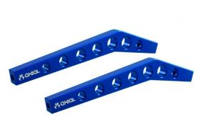 Axial AX30467 - Machined hi-clearance Links - Blue (2pcs)