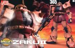 Bandai 5057593 - 1/48 MS-06S ZAKU II Char Aznable's Custom Mega Size Model