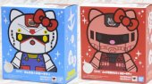 Bandai Chogokin Gundam Hello Kitty and Char's Zaku II Hello Kitty (Full Set) 59616 59615