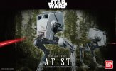 Bandai B-194869 - Star Wars 1/48 AT-ST Imperial All Terrain Scout Transport Walker