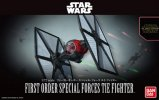 Bandai B-203219 - Star Wars 1/72 First Order Special Forces Tie Fighter - The Force Awakens Version