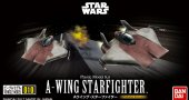 Bandai 217623 - Star Wars Vehicle Model 010 A-Wing Starfighter