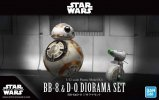 Bandai 5058226 - 1/12 BB-8 & D-O Diorama Set Star Wars The Rise of Skywalker