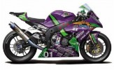 Fujimi 14134 - 1/12 Eva-01 RT TRICK*STAR FRTR Kawasaki ZX-10R 2011 (Model Bike)