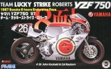 Fujimi 14136 - 1/12 Bike No.6 Yamaha YZF750 1987 Team Lucky Strike Roberts
