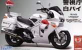 Fujimi 14146 - 1/12 Honda VFR800P Motorcycle Police white w/Decal