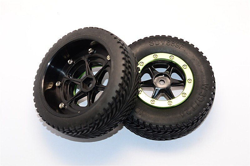 Axial Exo Tire : Rcjaz au axial racing exo rubber front tires with