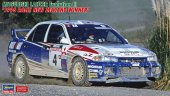 Hasegawa 20386 - 1/24 Mitsubishi Lancer Evolution III 1996 Rally New Zealand Winner Car No.2/4