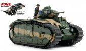 Tamiya #30058 - 1/35 French B1 bis (with Single Motor)