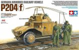 Tamiya #32413 - 1/35 German Panzerspähwagen Armored Railway Vehicle P204(f) (by ICM)
