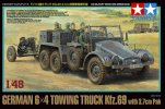 Tamiya #32580 - 1/48 German 6x4 Towing Truck Kfz.69 - with 3.7cm Pak