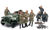 Tamiya #89767 - 1/48 Russian Field Car GAZ-67B w/Officers