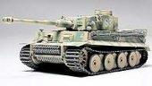 Tamiya #26505 - 1/48 Ger Tiger I Early Prod - Finished Turret No.33