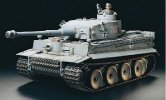 Tamiya #23609 - 56010 1/16 Tiger 1 Tiger I Early Production Full-Option (Ready Set - Limited Version) - Japanese Version