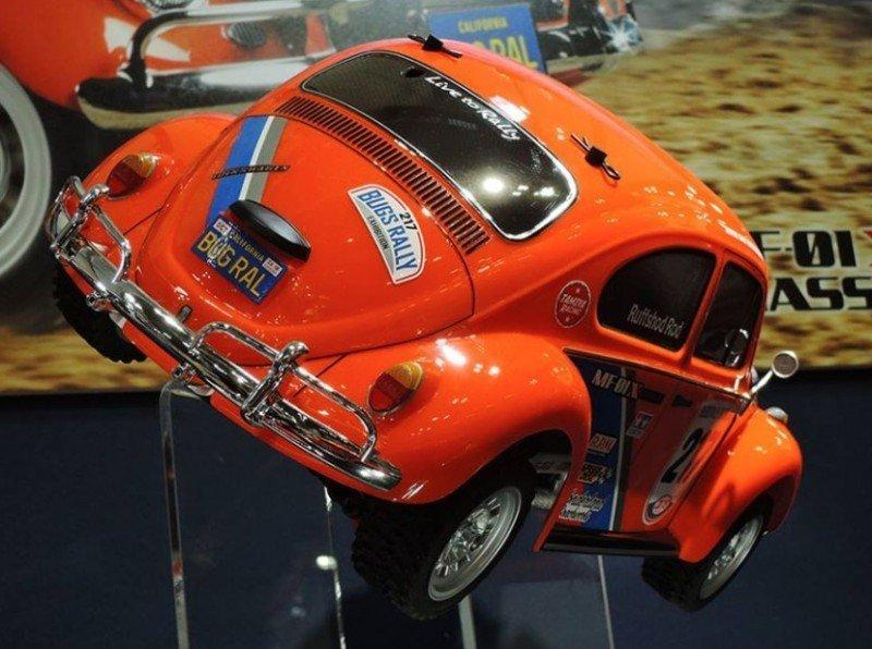 Tamiya 1/10 Volkswagen Beetle Rally (MF-01X Chassis) VW #58650