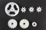 Tamiya #9115010 - Differential Gears for  Lunch Box/Hornet/Grasshopper/Midnight Pumpkin/Montero Wheelie/CW-01 Chassis - 19115010
